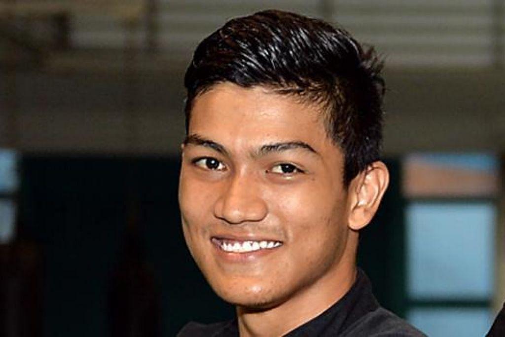 IQBAL: Ketua rombongan pesilat Singapura ke kejohanan di Pasir Gudang, Johor.