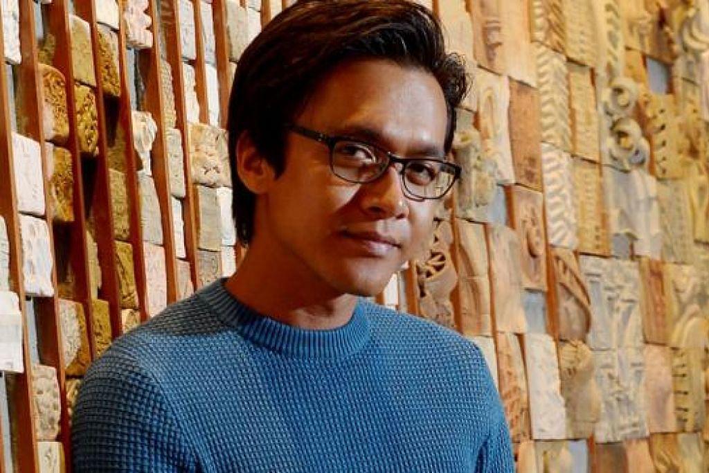 TIDAK 'SADO' KE? Pelakon Malaysia Azwan Kombos pernah ditegur peminat wanita yang menyifatkannya sebagai kurang 'sado', bermaksud badannya tidak begitu sasa dan agak kurus bagi pelakon lelaki. - Foto TUKIMAN WARJI