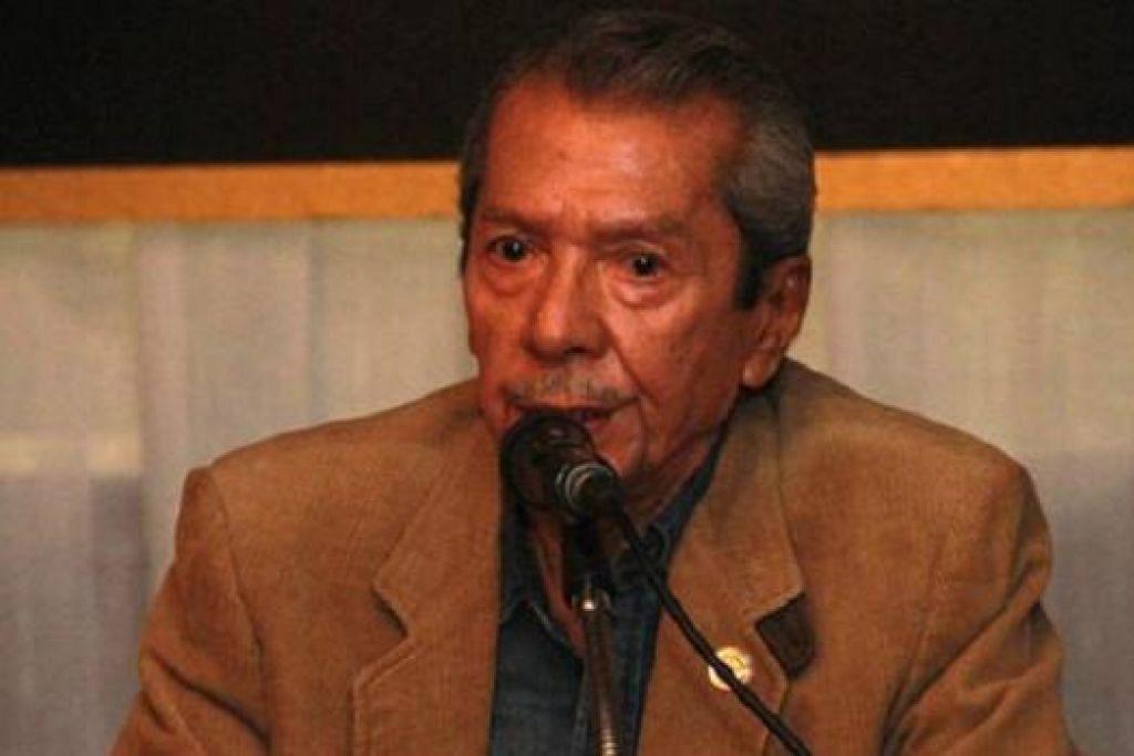 PULANG KE RAHMATULLLAH: Bintang filem, Datuk Mustafa Maarof, meninggal dunia pada usia 79 tahun, pada pagi ini. - Foto