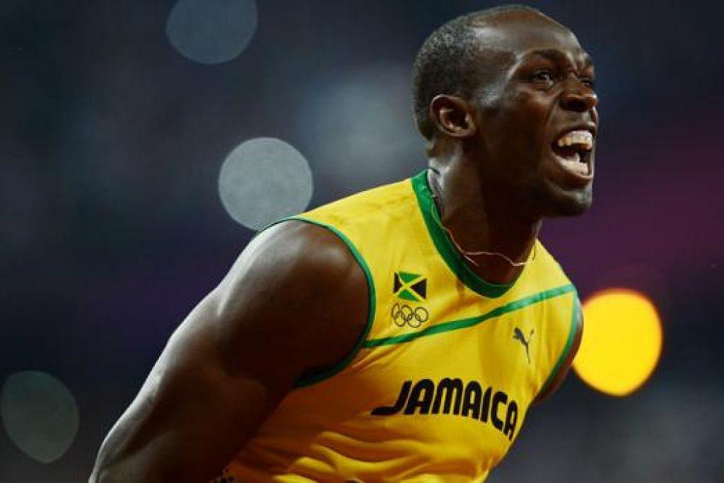 KECAM USULAN 'TAK MUNASABAH': Juara pecut dunia dan ikon olahraga, Usain Bolt, berkata usulan mengeluarkan acara 200 meter dari program Sukan Olimpik 'tidak masuk akal'. - Foto THE STRAITS TIMES
