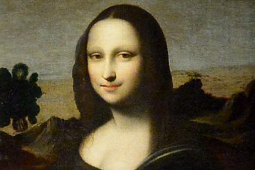 MONA LISA YANG LEBIH MUDA: Inilah potret Mona Lisa yang dipercayai dilukis oleh Leonardo da Vinci pada tahun 1503 dan sengaja dibiarkan tidak siap.