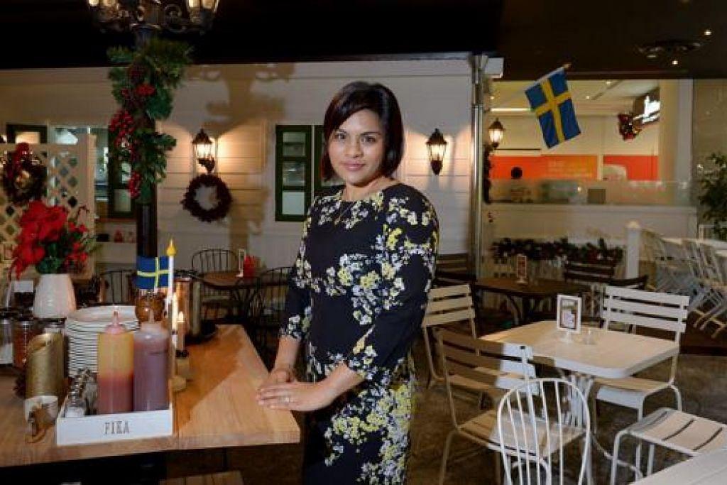 RESTORAN BERKONSEP 'TERBUKA': Restoran Fika di OneKM milik Cik Tasneem Noor mempunyai ciri-ciri alfresco yang berbeza daripada dua cawangannya sebelum ini. - Foto TUKIMAN WARJI