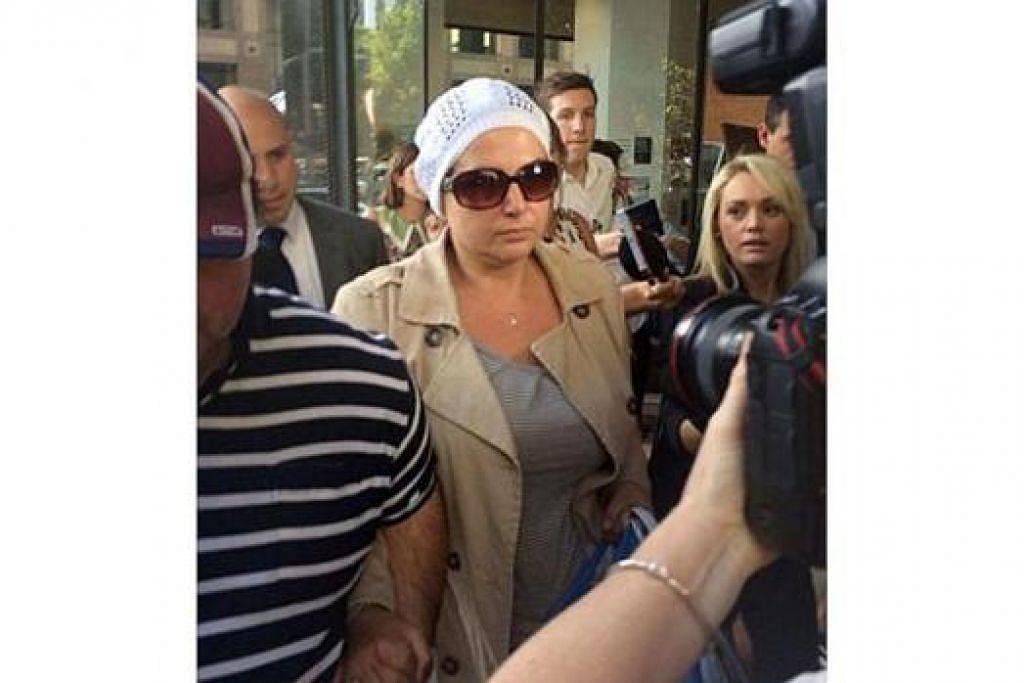 MASIH BEBAS: Setahun lalu, Amirah Droudis didakwa membunuh bekas isteri pasangannya, Man Haron Monis, namun dia dibebaskan dengan ikat jamin. - Foto ABC NEWS