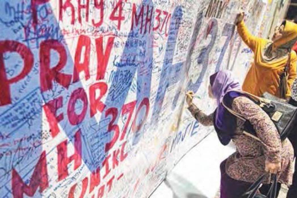 KEHILANGAN PESAWAT MH370