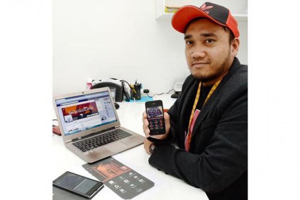 AYUH 'ASK USTAZ': Pereka aplikasi 'Ask Ustaz', Encik Mohamed Shahreza Musa ingin membantu masyarakat mendapatkan kefahaman tentang kemusykilan agama mereka. - Foto JOHARI RAHMAT