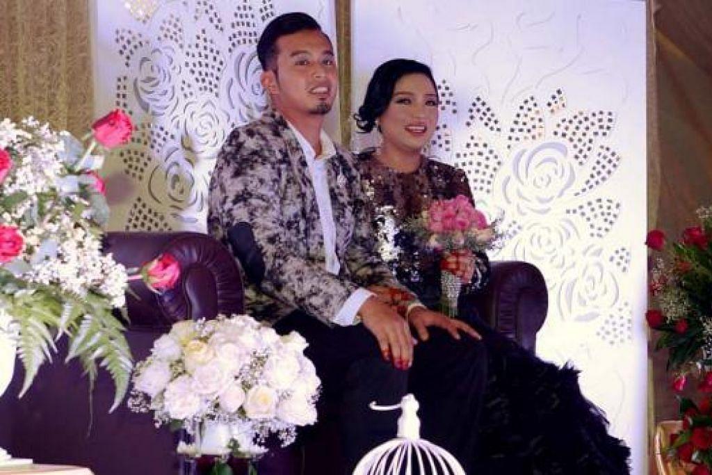 SELAMAT PENGANTIN BARU: Rahayu Ridwan dan Faziz Taufiq baru bersanding pada 6 Disember lalu. – Foto-foto fail