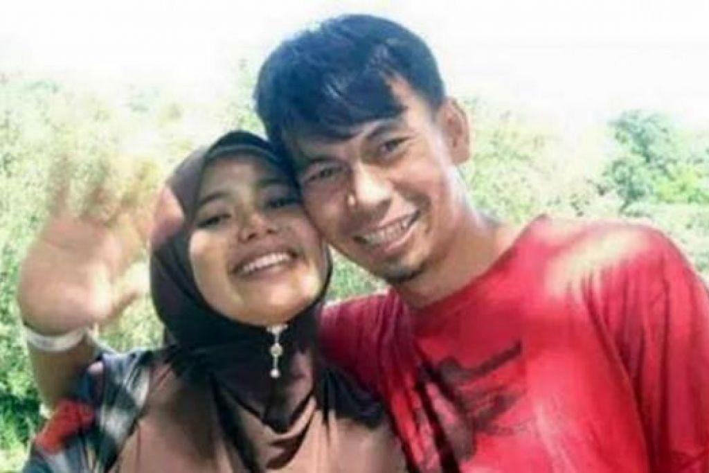MATI LEMAS: Guru, Allahyarhamha Nurhayati Sulong, dan suaminya, Allahyarham Suhaimi Awang, menjadi mangsa banjir selepas bot yang dinaiki mereka karam dalam di Kemaman. - Foto FACEBOOK
