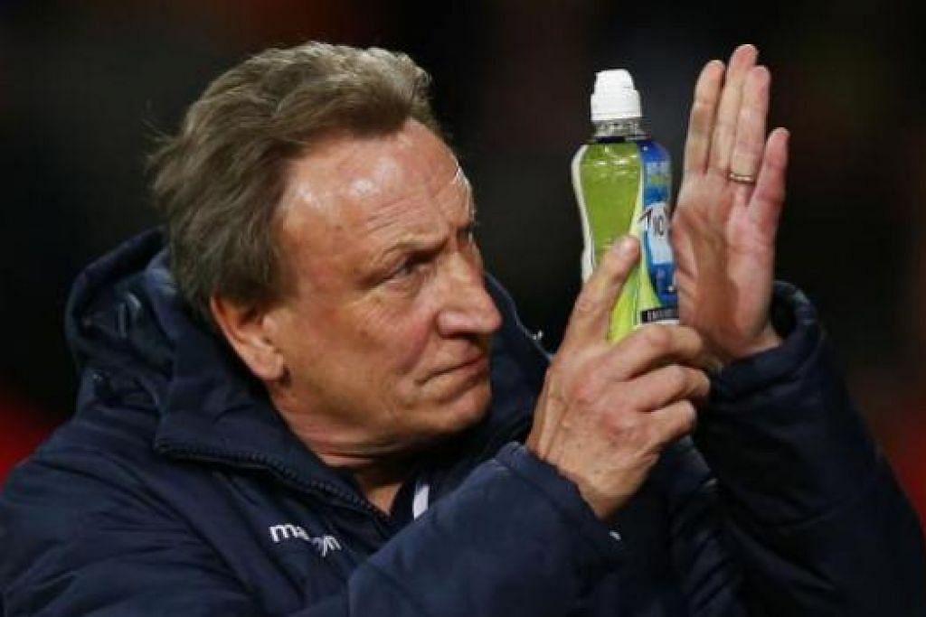 MENJADI MANGSA: Neil Warnock 'mangsa' pertama di Crystal Palace - beliau dipecat selepas kelab itu hanya memenangi satu daripada 12 perlawanan terakhir. - Foto Reuters