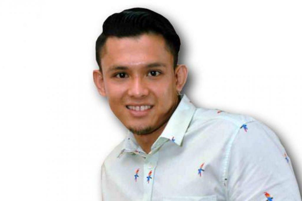 GEMBIRA DIBERI PELUANG: Aryl Falak yang langsung terjun ke dalam bidang perfileman dan menjayakan watak si 'playboy' dalam filem silat Brunei, 'Yasmine' nantikan lebih banyak peluang berlakon. - Foto KHALID BABA
