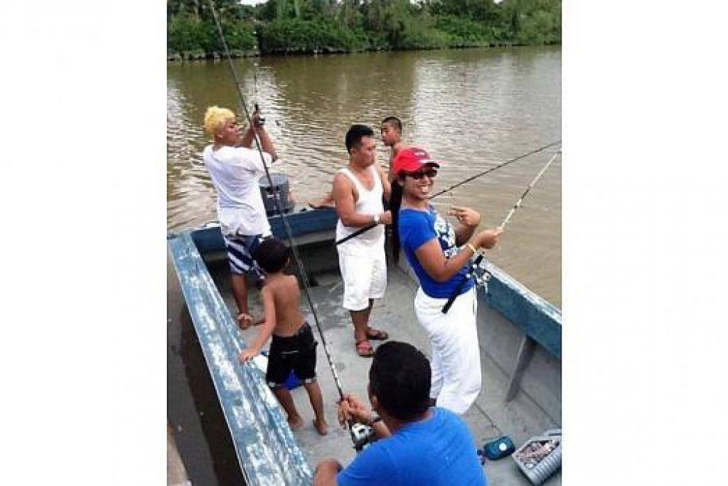 PANCING APA TU?: Memancing antara kegiatan yang boleh dilakukan tetamu Kampung Sayang Resort. – Foto-foto KAMPUNG SAYANG RESORT