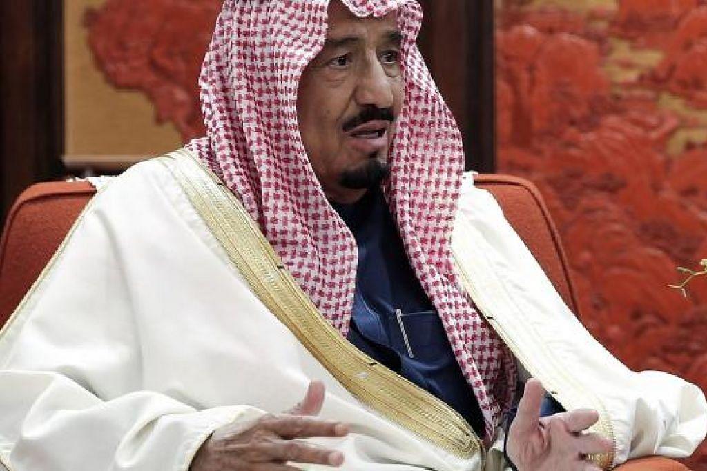 Putera Mahkota Salman kini raja baru Arab Saudi. Gambar fail
