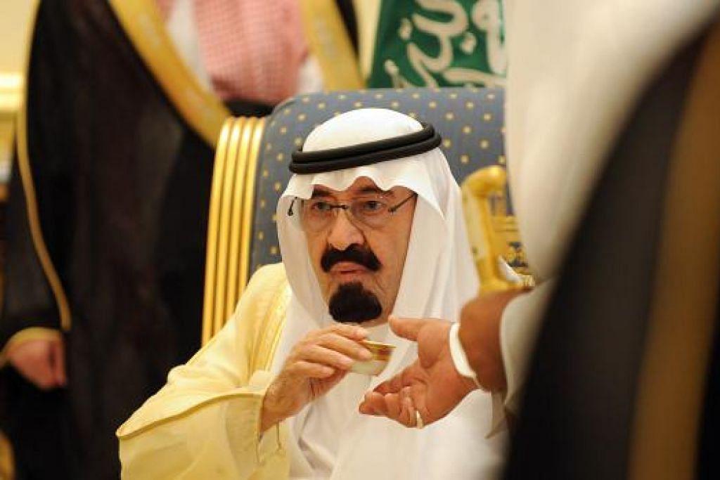 Allahyarham Raja Abdullah. Gambar fail