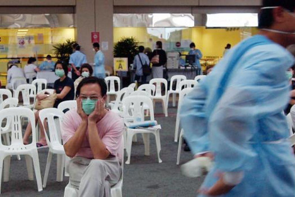 PERISTIWA SARS TERUS TERUKIR DI HATI RAKYAT: Singapura pernah dicengkam wabak Sars pada 2003 dan ia adalah antara peristiwa yang paling dingati dan paling menyentuh perasaan rakyatnya. - Foto fail