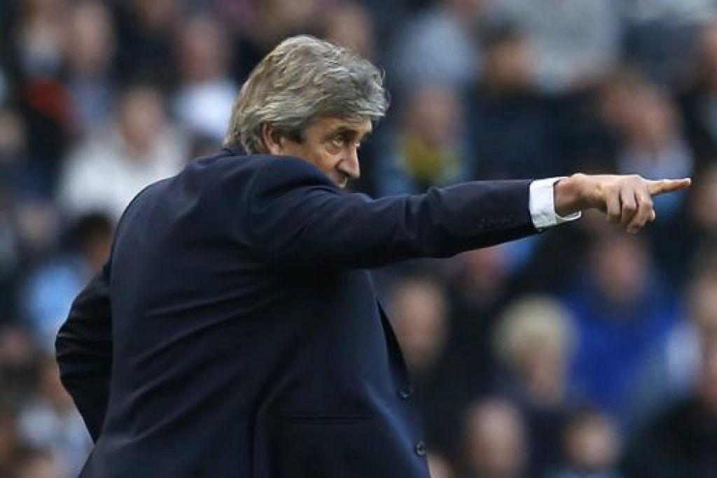 TIDAK SEBULU: Pengurus Chelsea, Jose Mourinho, sudah tidak sehaluan dengan rakan sejawatannya di Manchester City, Manuel Pellegrini (gambar), ketika mereka dulu bertugas dalam La Liga Sepanyol. - Foto REUTERS