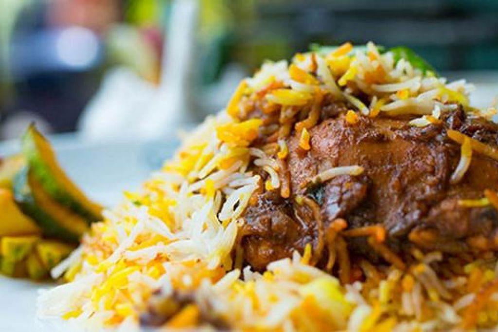 HANYA SEPANJANG FEBRUARI: Nikmati santapan enak seperti beriani di Islamic Restaurant dan dapatkan potongan harga sebanyak 10 peratus apabila anda membuat tempahan di Chope. - Foto CHOPE