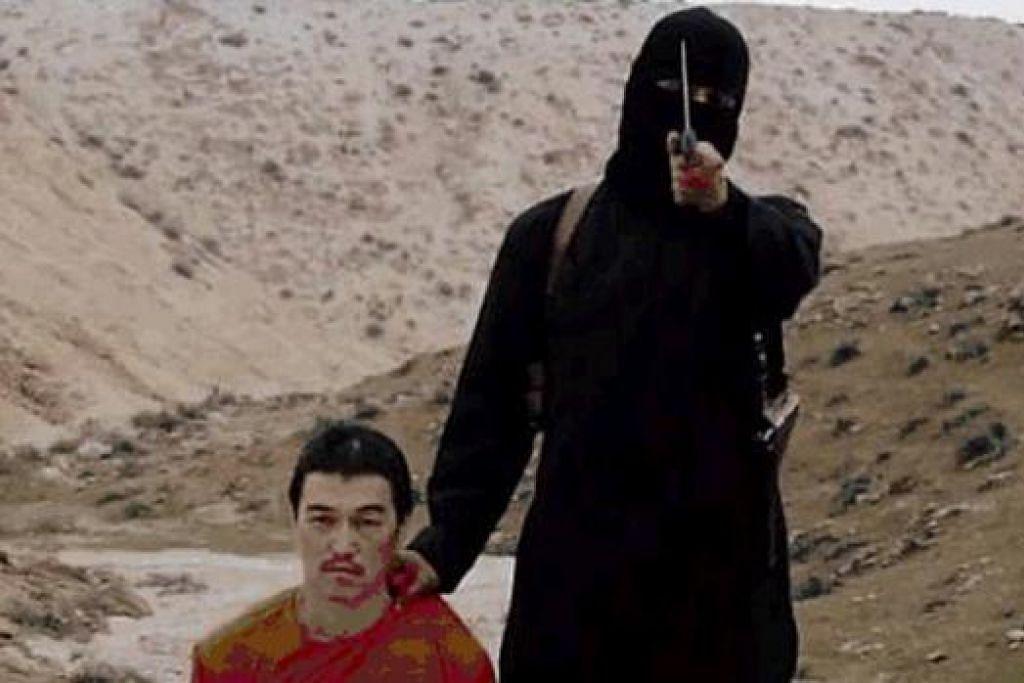 VIDEO ISIS: Video yang dikeluarkan ISIS memaparkan pembunuhan Encik Kenji Goto.