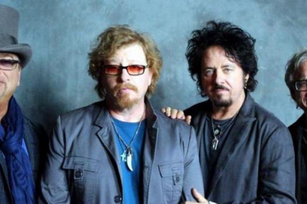 ALBUM BARU: Kumpulan Toto yang popular dengan lagu Rosanna kembali dengan sebuah album terbaru, Toto XIV, Mac depan. - Foto WWW.TOTOOFFICIAL.COM