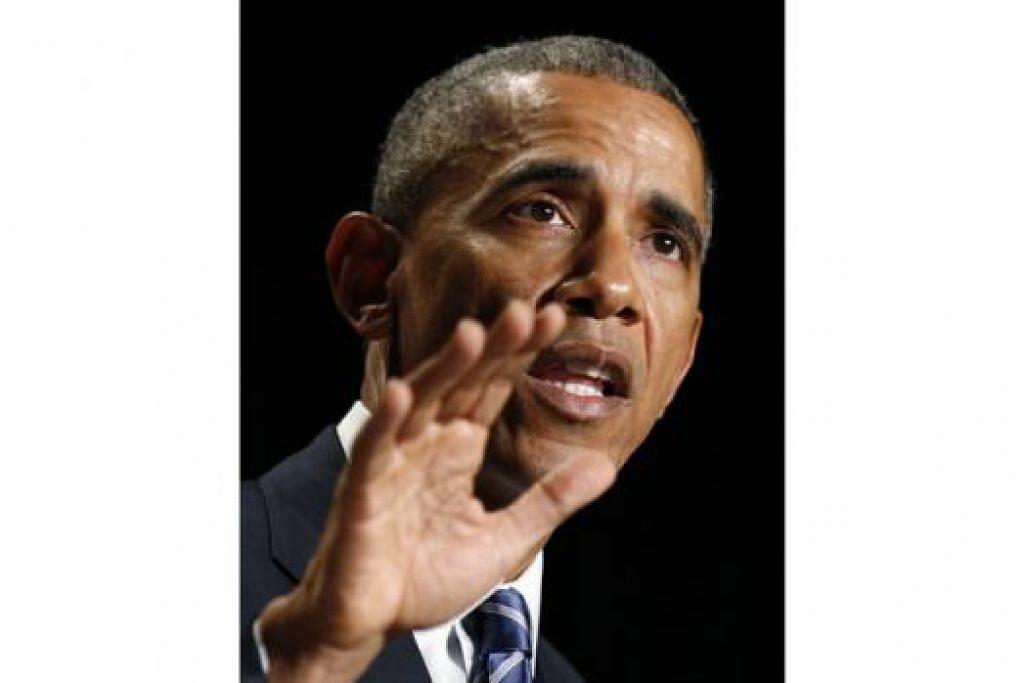 Presiden Barack Obama. - Foto REUTERS