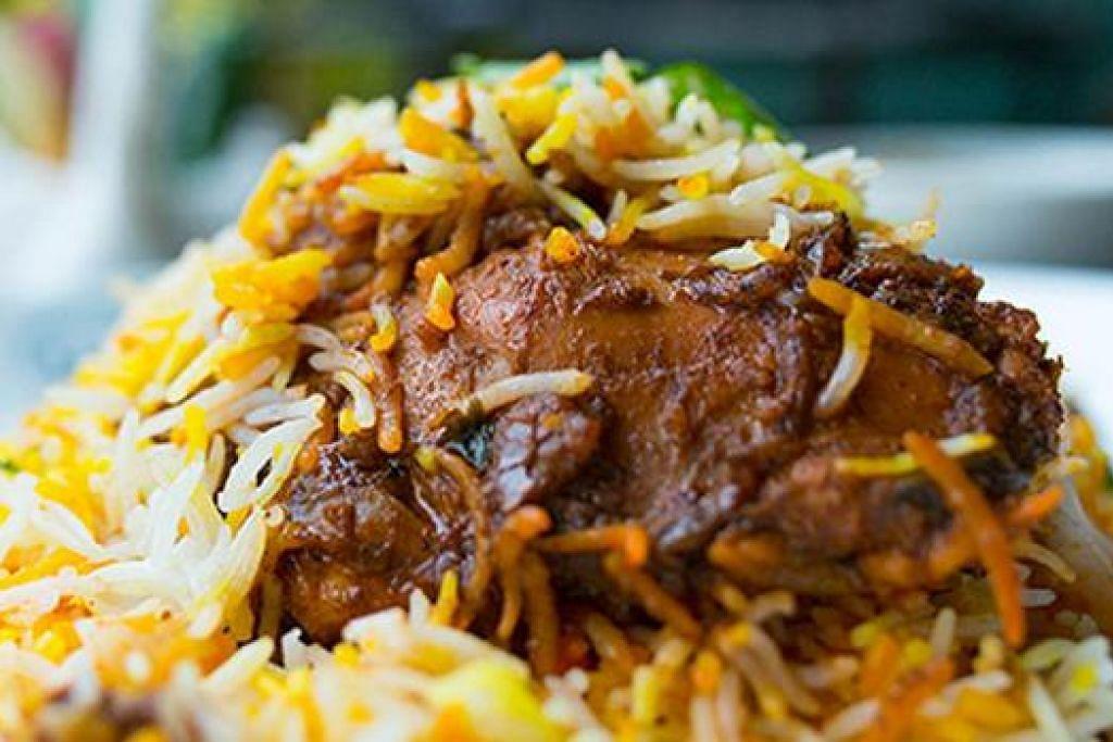 DISKAUN BULAN INI: Nikmati santapan enak seperti beriani di Islamic Restaurant dan dapatkan potongan harga sebanyak 10 peratus apabila anda membuat tempahan di Chope. - Foto fail