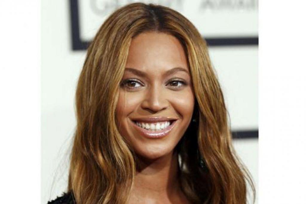 PENCAPAIAN CEMERLANG: Beyoncé memenangi tiga Grammy bagi kategori Bunyian Album Terbaik, Lagu R&B Terbaik dan Persembahan Terbaik bagi lagu 'Drunk In Love' lantas menjadikannya penyanyi kedua mengumpul paling banyak Angerah Grammy selepas Alison Krauss. - Foto REUTERS