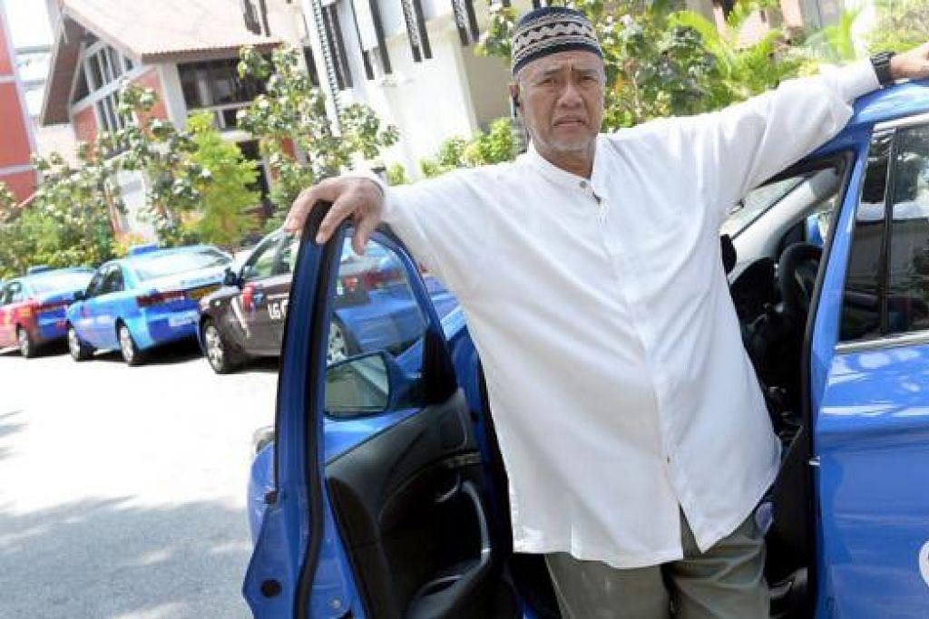 BERFIKIRAN POSITIF: Walaupun Haji Abdullah mengalami penyakit ginjal sejak 2004, beliau masih mampu bekerja kerana azamnya mahu berdikari dan meneruskan kehidupan yang positif. - Foto TAUFIK A. KADER