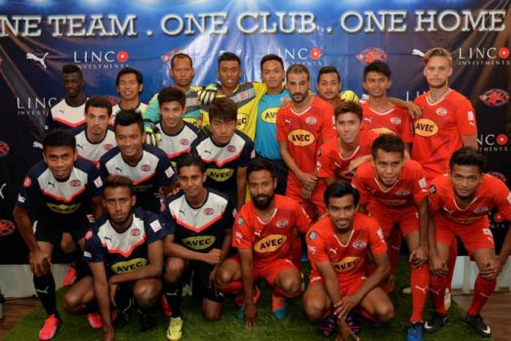 MEMBURU KEJAYAAN: Skuad Home United musim ini menggabungkan pemain berpengalaman dengan pemain muda dan dijangka boleh bersaing bagi kejuaraan Liga-S. - Foto M.O. SALLEH