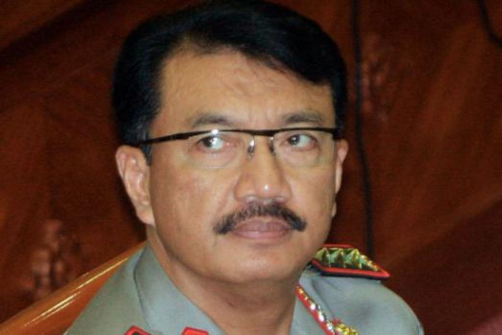 JENERAL BUDI: Pencalonannya sebagai Ketua Polis ditentang oleh KPK dan aktivis antirasuah.