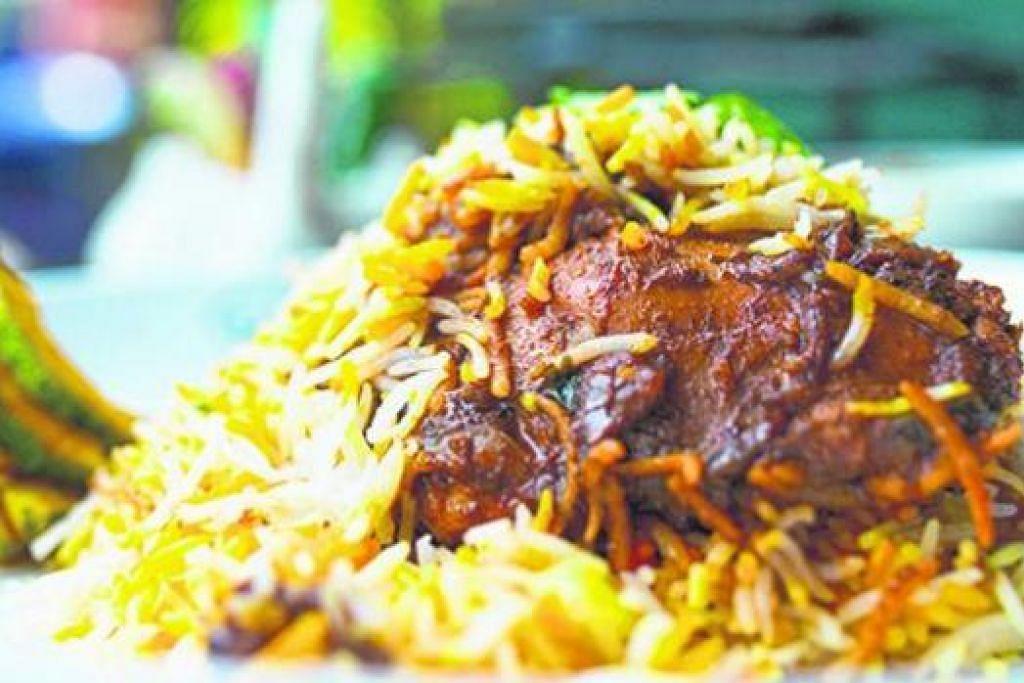 TAWARAN ISTIMEWA: Beriani dan masakan India utara boleh dinikmati di Islamic Restaurant dengan menempah meja di Chope. - Foto fail