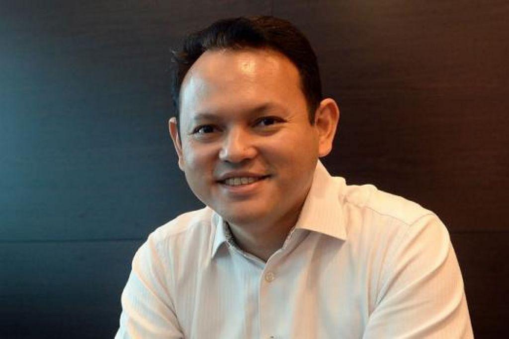 ENCIK ZAQY MOHAMAD: Berharap membawa bahasa Melayu ke taraf lebih tinggi.