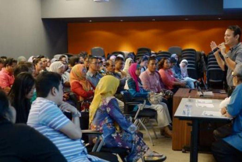 LEBIH GAH: Encik Zaqy berharap kegiatan Bulan Bahasa tahun ini akan lebih menarik, sekali gus membantu membawa taraf bahasa Melayu setempat ke peringkat lebih tinggi.