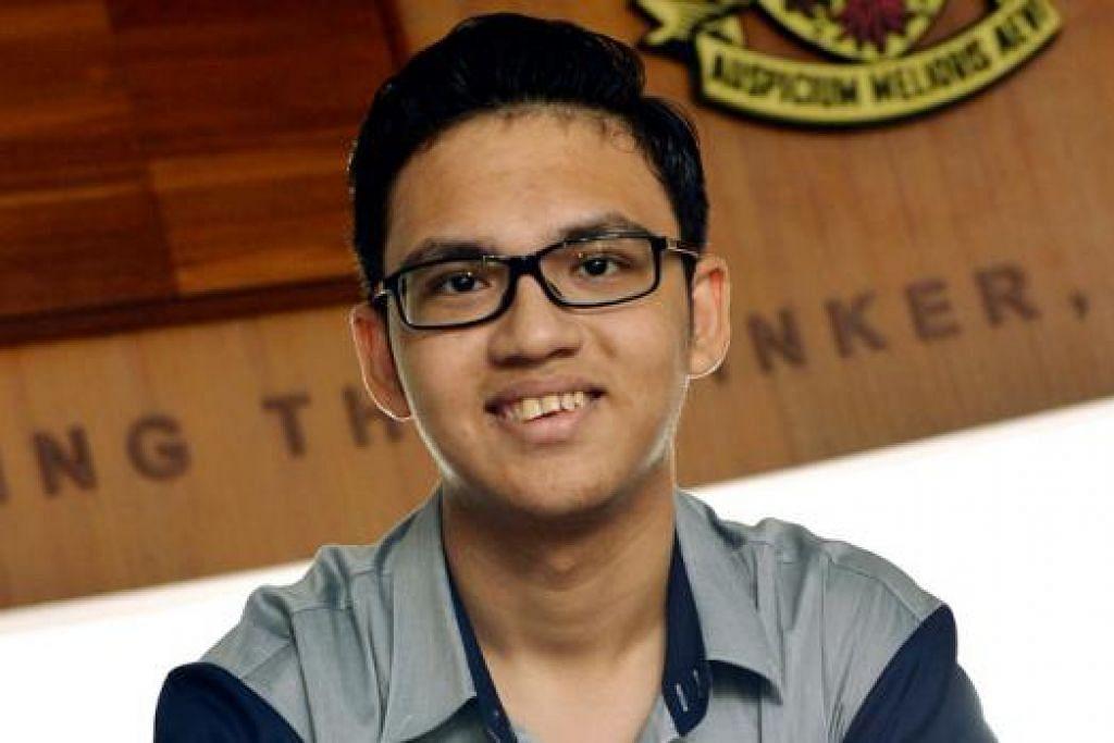 TABAH MENGHADAPI CABARAN: Daniel bersikap positif dalam menempuh pelbagai cabaran dalam hidupnya. - Foto KHALID BABA