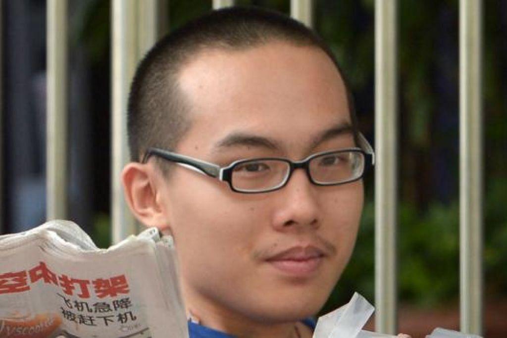 REAGAN TAN CHANG ZHI: Dikehendaki juga melakukan 180 jam khidmat masyarakat.