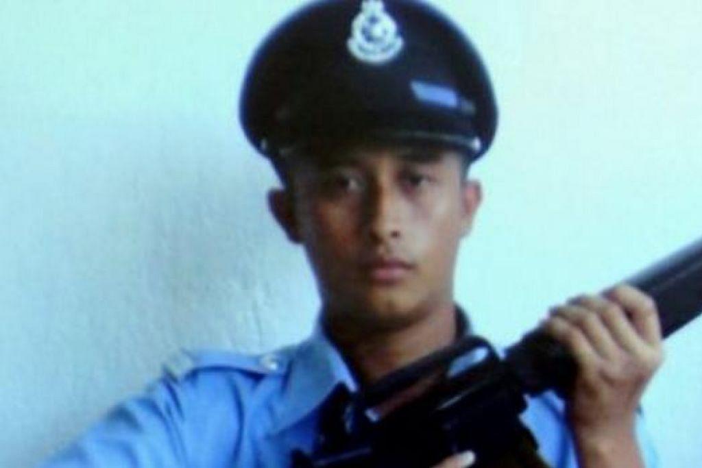 LANS KOPERAL ZAKIAH ALEIP: Berjaya dibebaskan selepas diculik pengganas pada Julai tahun lalu di Pulau Mabol, Semporna, Sabah. - Foto NSTP