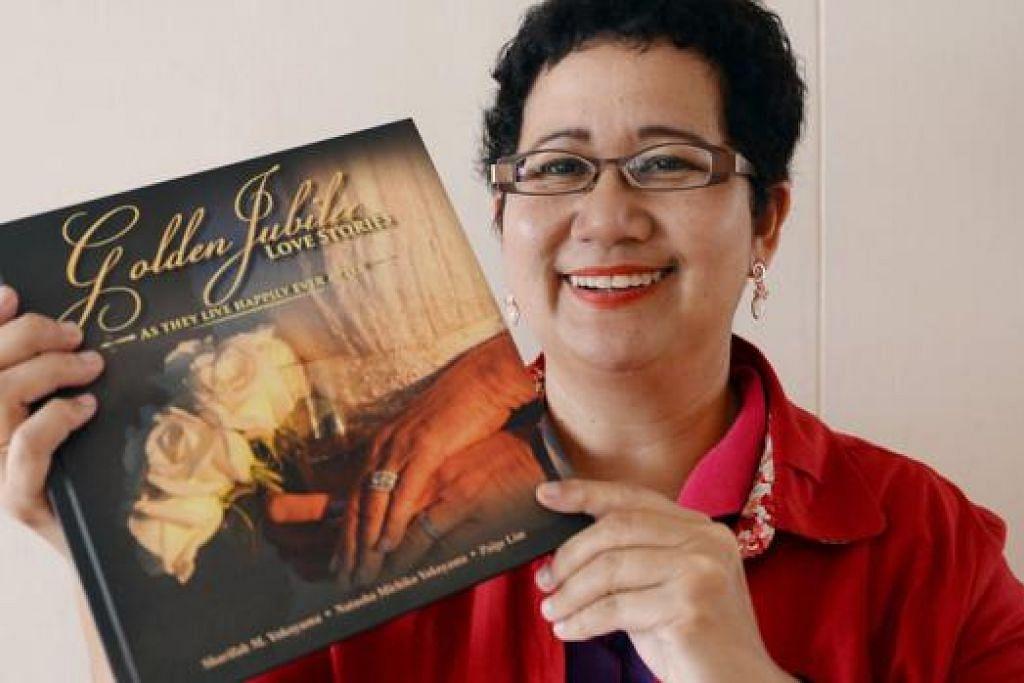 SHARIFAH MASTURAH: Ambil masa sekitar tiga bulan untuk temu bual 50 pasangan dan hasilkan buku. Antara yang diketengahkan dalam buku itu ialah ibu bapanya sendiri, Syed Mohammad Syed Umar Shahab dan Sharifah Noraini Syed Hussein Alsagoff.