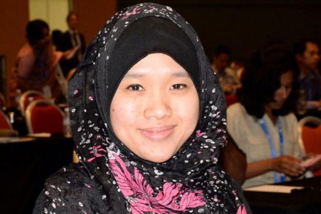 Zamil penyelidik bersekutu RSIS, Cik Nur Azlin Mohamed Yasin, mengenai penggunaan media sosial dalam menyebar ideologi pelampau