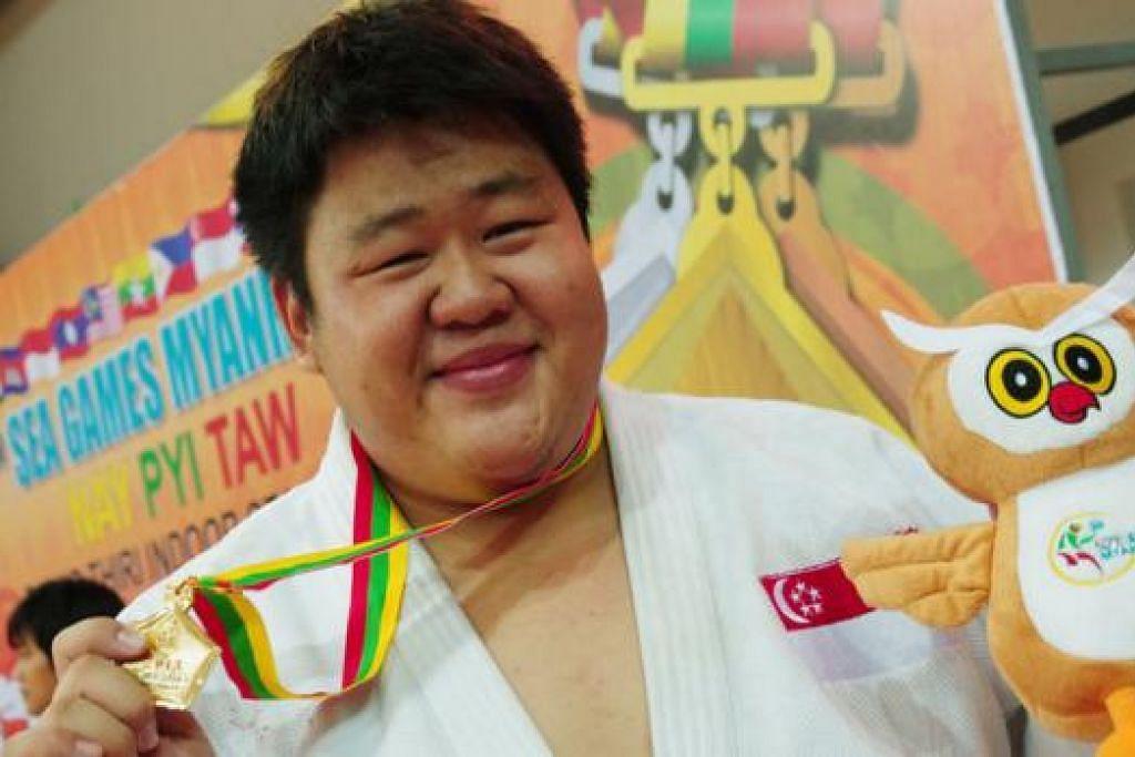 TIDAK BERPELUANG PERTAHAN EMAS: Juara Sukan SEA 2013, Ho Han Boon, gagal mendapat tempat dalam skuad temasya sukan kali ini selepas kecundang di dua sesi pemilihan yang diadakan awal sebelum ini. - Foto fail