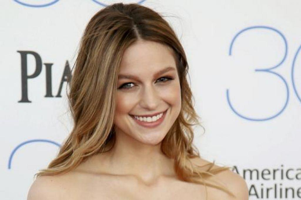 BAKAL JADI SUPERGIRL: Melissa Benoist yang pernah berlakon dalam siri 'Glee' bakal berlakon sebagai Supergirl tidak lama lagi. - Foto REUTERS