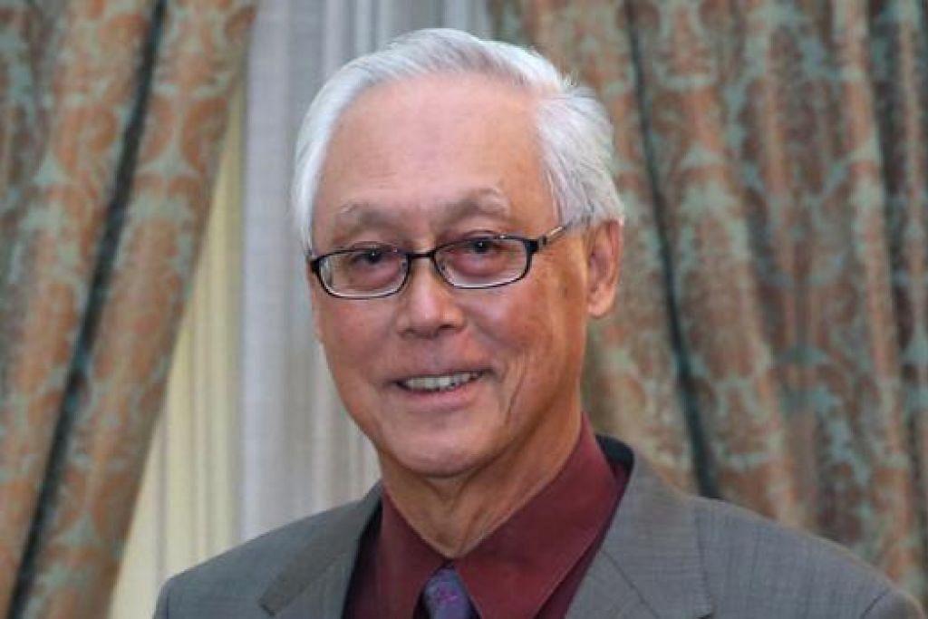 ENCIK GOH CHOK TONG: Mendiang Encik Lee berucap selama empat jam di Parlimen pada Februari 1977.