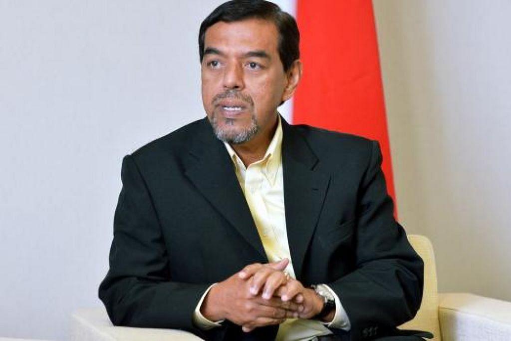 HAJI ABDUL RAZAK: Mendiang Encik Lee bantu bentuk Dana Pembinaan Masjid.