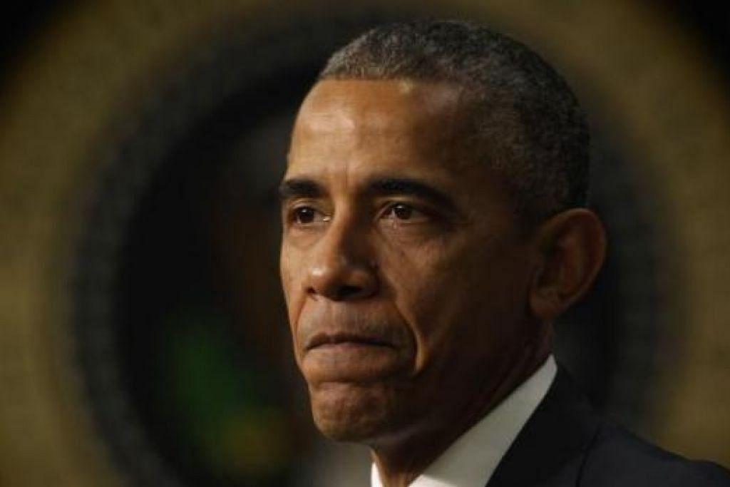 Presiden Amerika Syarikat Barack Obama.