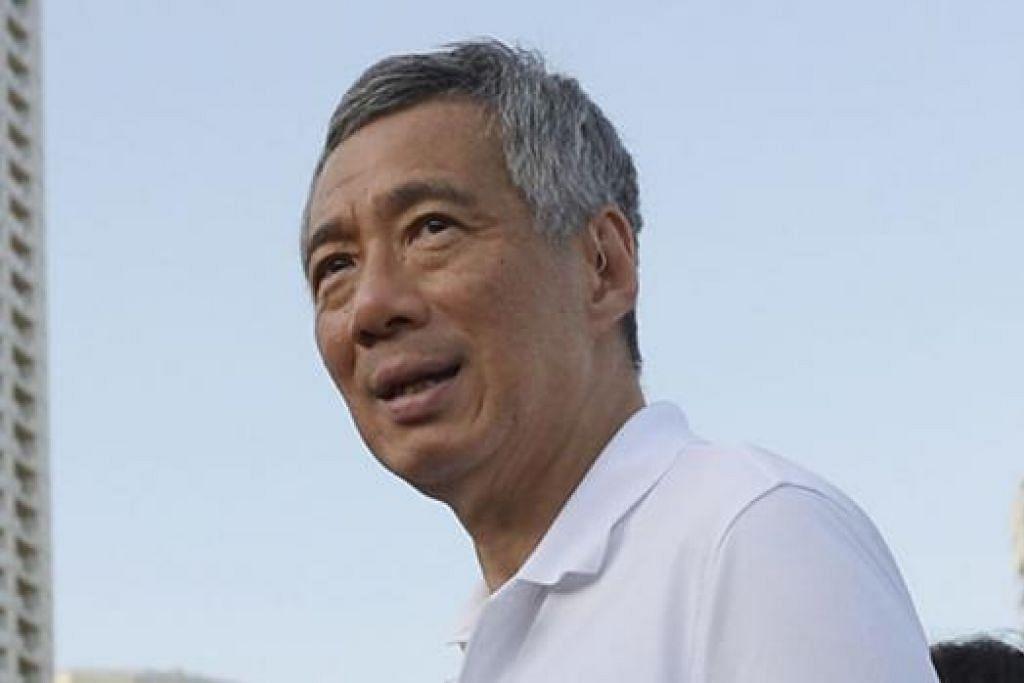 Perdana Menteri Lee Hsien Loong.