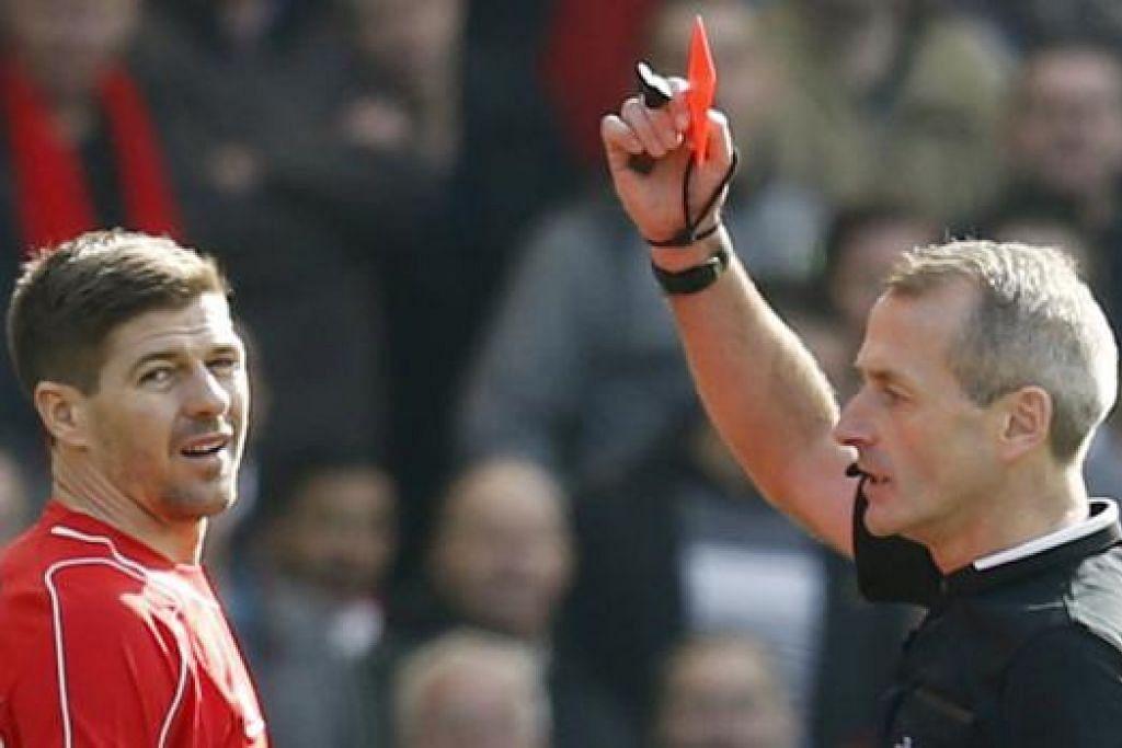 BINASA SENDIRI?: Liverpool perlu pantas bangkit dan raih semula momentum kemenangan menjelang baki perlawanan musim ini. - Foto REUTERS