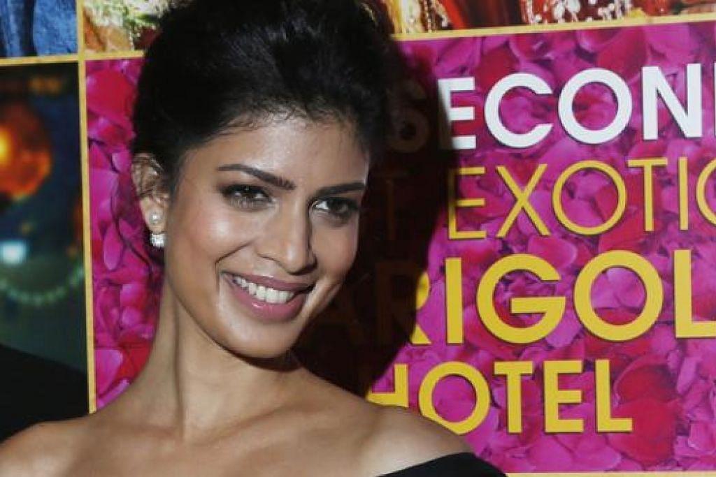 LEBIH PELUANG: Tina Desai sudah pun membintangi filem Barat berjudul 'The Best Exotic Marigold Hotel', tetapi masih belum berjaya dalam filem-filem Bollywood. - Foto REUTERS