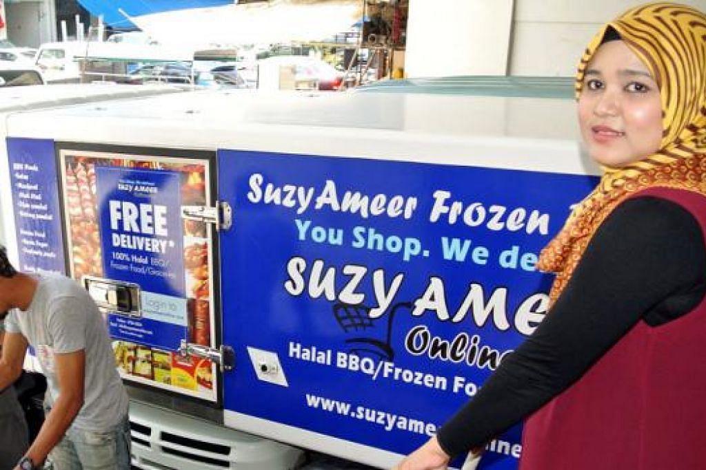 MASALAH MENCARI PEKERJA: Cik Suziana Ahmad Ash'Ali menghadapi masalah mencari pekerja untuk membantu perniagaannya. Ada pekerja yang pada mulanya bersetuju dengan syarat bekerja enggan menepati persetujuan itu setelah mula menjalankan tugas. - Foto fail