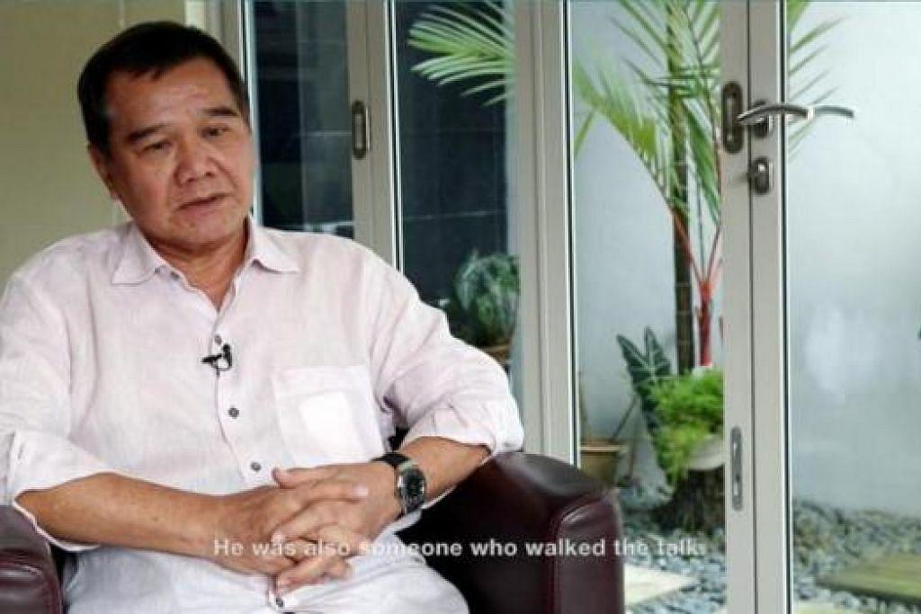ENCIK ABDULLAH TARMUGI: Antara tokoh politik yang diwawancara dalam video yang dihasilkan akhbar BH.