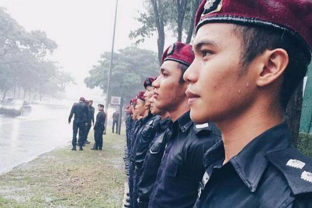 KONGSI GAMBAR: Gambar-gambar yang diambil semasa Perarakan Pengebumian Negara masih dimuat naik ke laman sosial semalam.