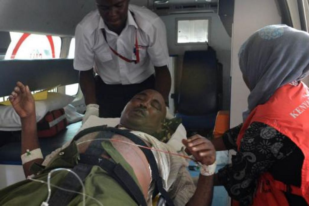 ANTARA YANG SELAMAT: Keempat-empat angota militan yang terbabit dalam serangan turut terbunuh selepas meledakkan diri mereka menyusuli serangan balas askar pemerintah. - Foto AFP