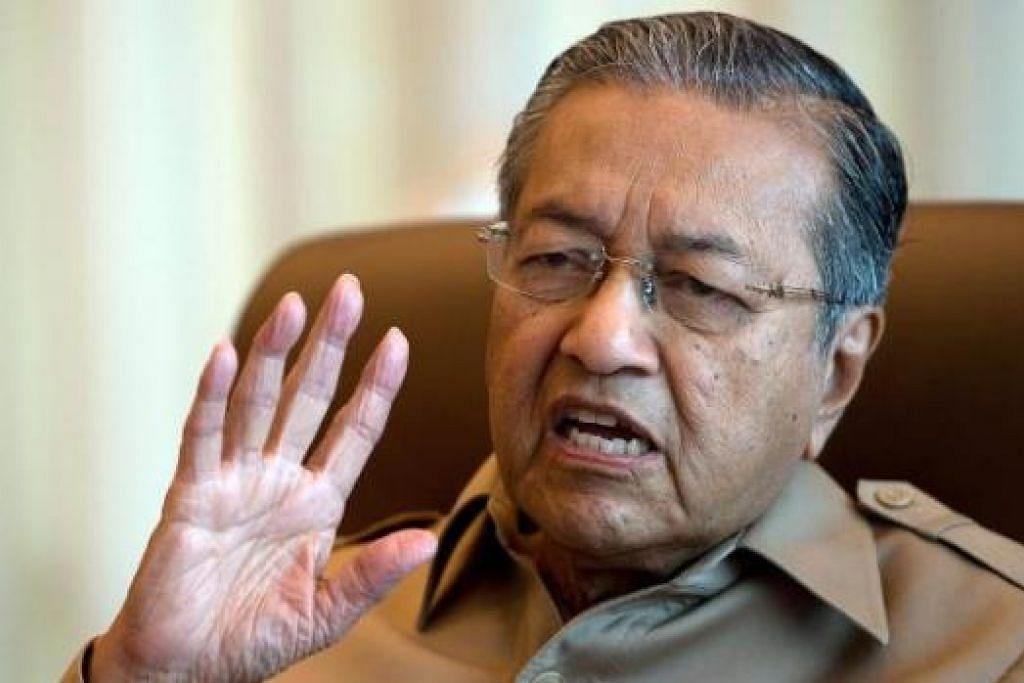 """""""Negara kita terkenal sebagai salah sebuah negara yang memiliki pentadbiran yang baik. Tetapi sekarang tidak lagi. Sekarang akhbar luar negara melabelkan Malaysia sebagai sebuah negara paling korup."""" - Tun Dr Mahathir Mohamad."""