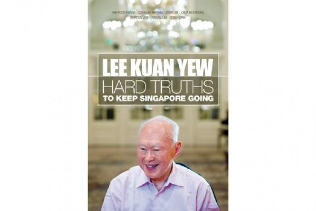 ANTARA PILIHAN UTAMA: Buku berjudul 'Hard Truths To Keep Singapore Going' ini antara buku paling laris. - Foto The STRAITS TIMES