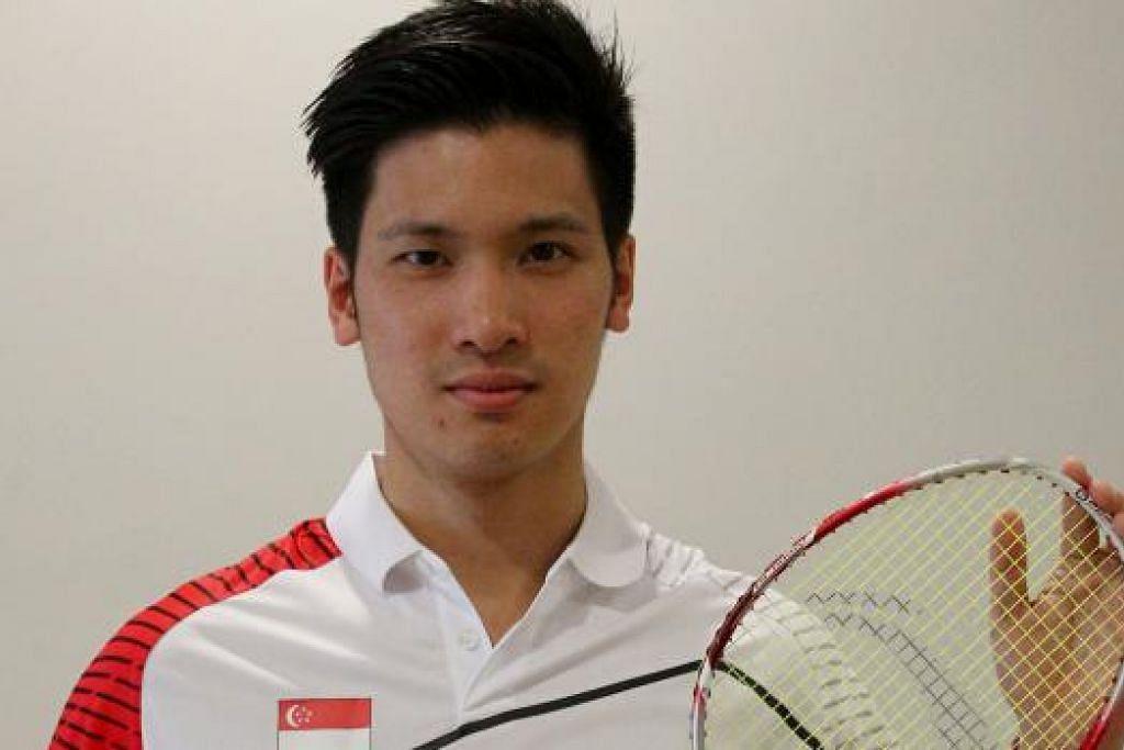 BERJAYA: Derek Wong atasi cabaran pertama.